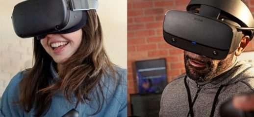 Al via le spedizioni di Oculus Quest e Rift S