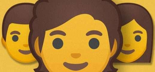 I 53 emoji gender fluid di Google per Android Q