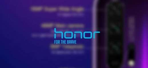 Honor 20 Pro: dettagli sulle fotocamere posteriori