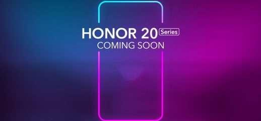 Ecco la prima immagine ufficiale di Honor 20 Pro