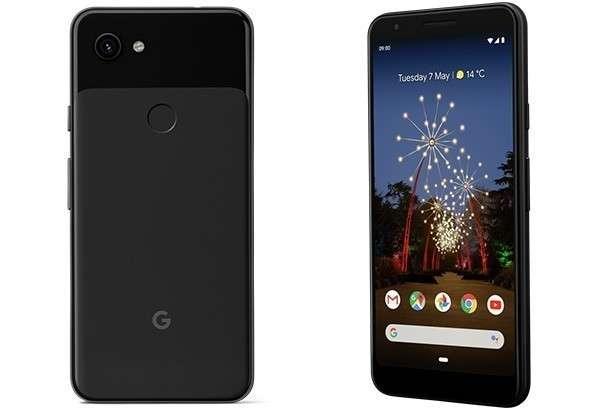 Il design dei nuovi smartphone Google Pixel 3a