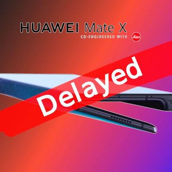 {Huawei Mate X: lancio rimandato a settembre