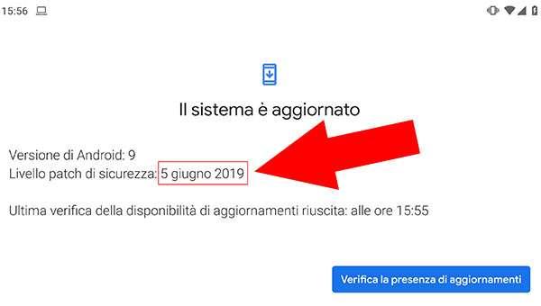 Le patch di sicurezza del 5 giugno su Pixel 3 XL, con un giorno di anticipo
