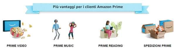 Amazon Prime: il primo mese è gratuito