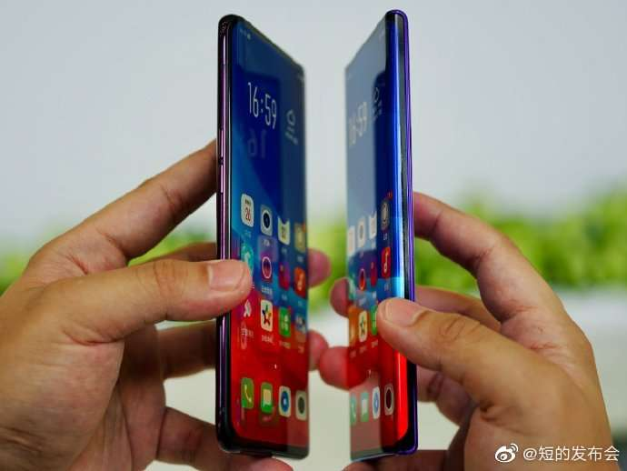 OPPO Smartphone water fall