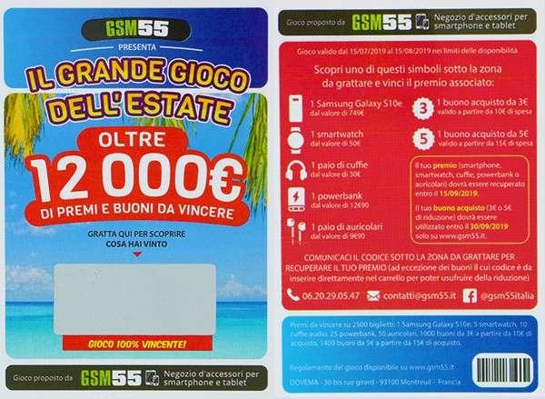 Gratta e Vinci GSM55
