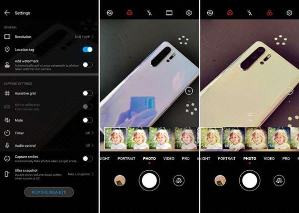 EMUI 10 Android Q su Huawei