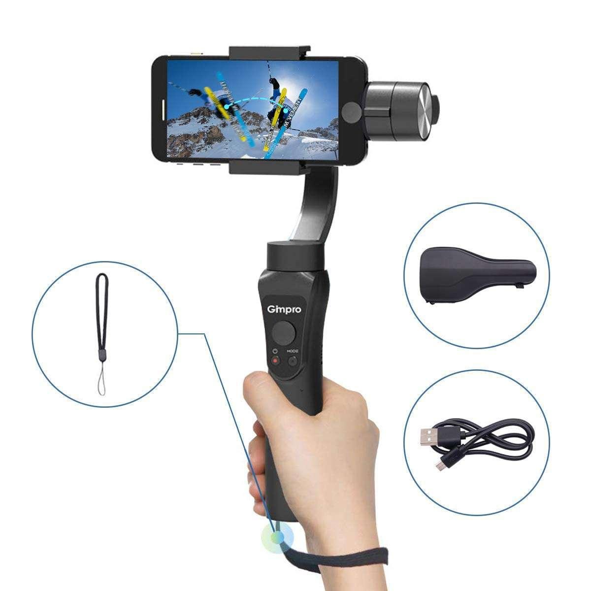 Gimbal Stabilizzatore Smartphone