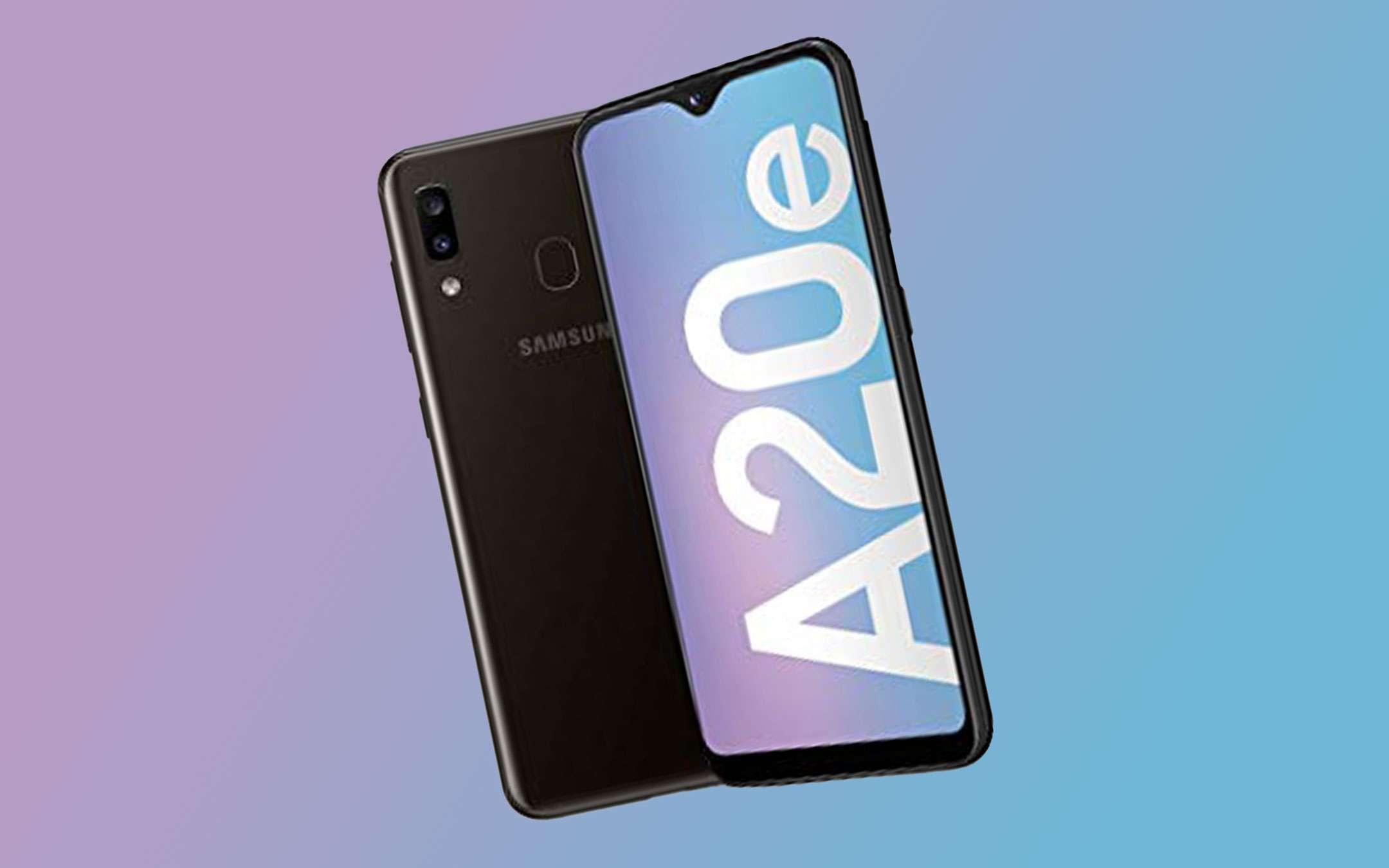 Samsung Galaxy A20e in offerta su Amazon