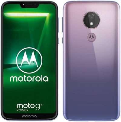 smartphone motorola: moto g7 power