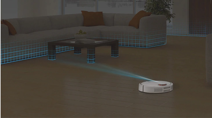 Mappatura robot aspirapolvere