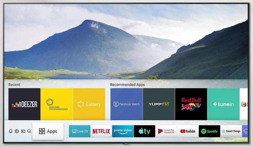 smart tv samsung app compatibili