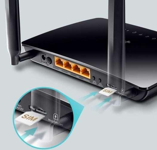 Modem router wifi 4G