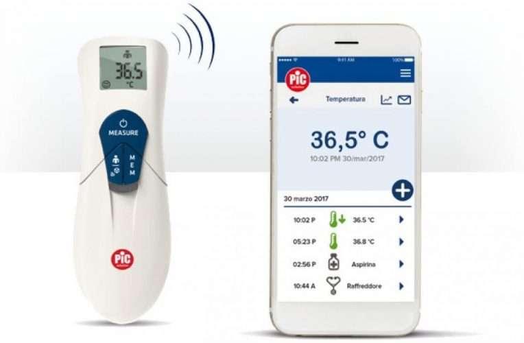 termometro a infrarossi TermoDiary Head