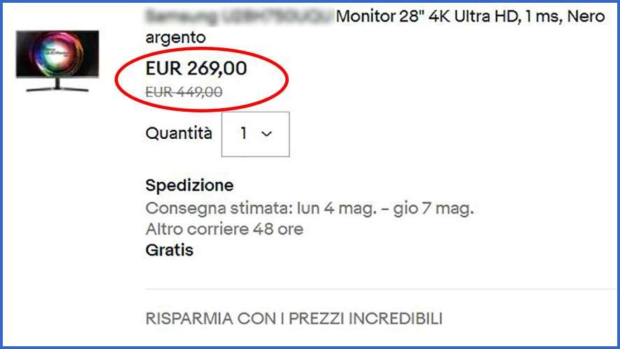Monitor pc prezzi e offerte