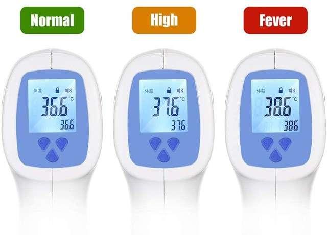 Termometro infrarossi, lettura della febbre a distanza