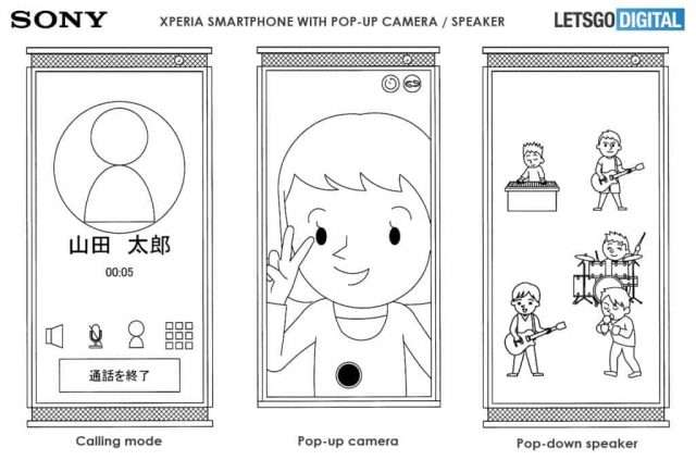 سوني: هاتف ذكي مع نافذة منبثقة مزدوجة ؛ ما هو غرضه؟ 1