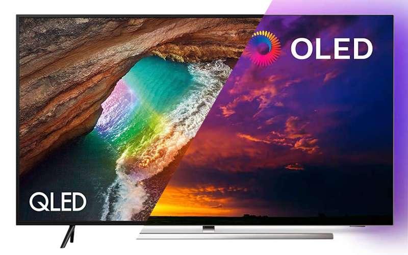 TV OLED o QLED differenze