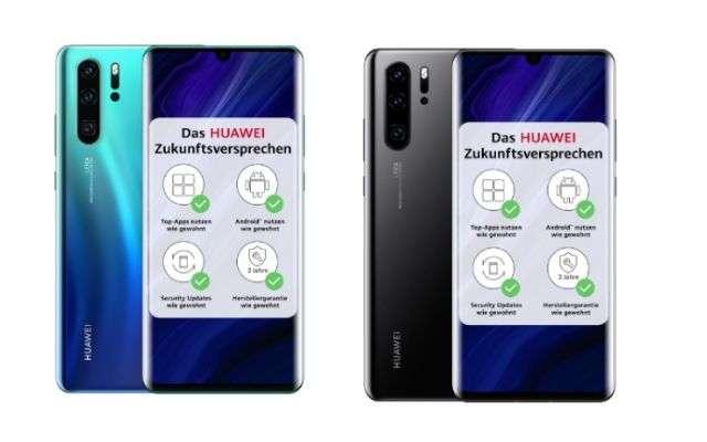 Huawei P30 Pro phiên bản mới chính thức tại Châu Âu 2