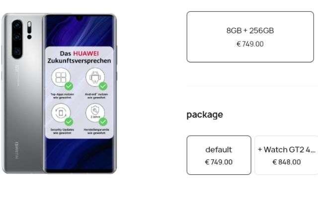 Huawei P30 Pro phiên bản mới chính thức tại Châu Âu 3