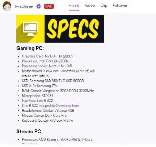 come fare live su twitch