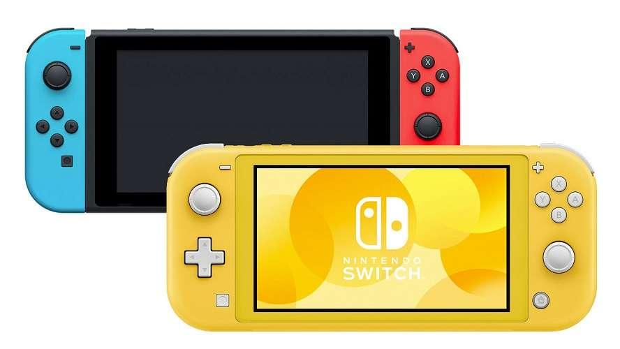 Nintendo Switch vs. Nintendo Switch Lite