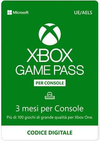 Xbox Game Pass, 3 mesi