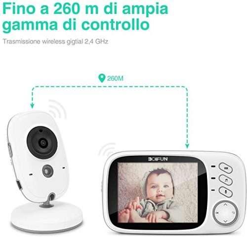 baby monitor lungo raggio