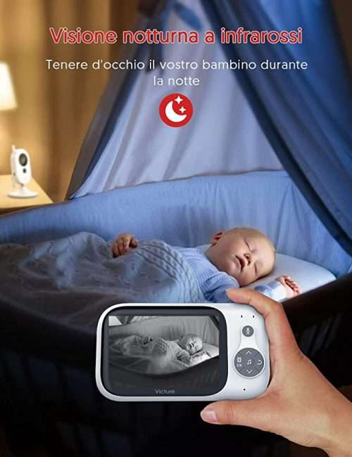 baby monitor a infrarossi