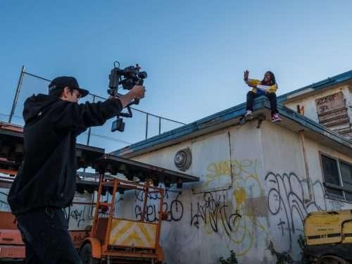 action cam con microfono esterno