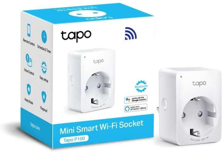 presa wifi TP-Link Tapo P100