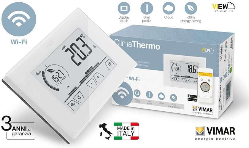 termostato wifi vimar