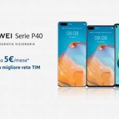Con TIM HUAWEI P40 Series a partire da 5€ al mese