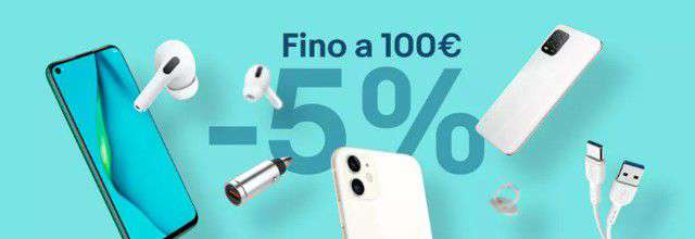 eBay: fino a 100 euro di sconto