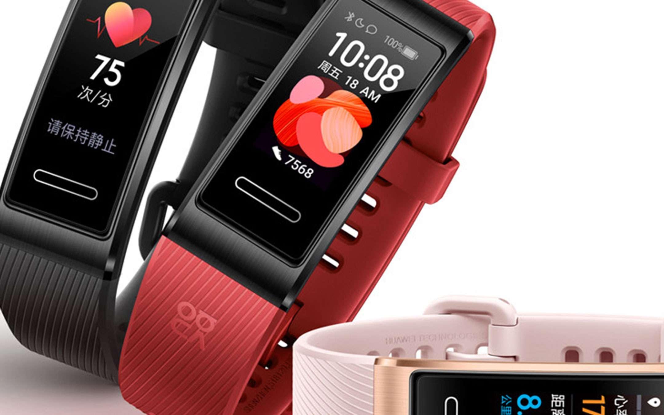 Huawei Band 4 Pro: doppio sconto su Amazon