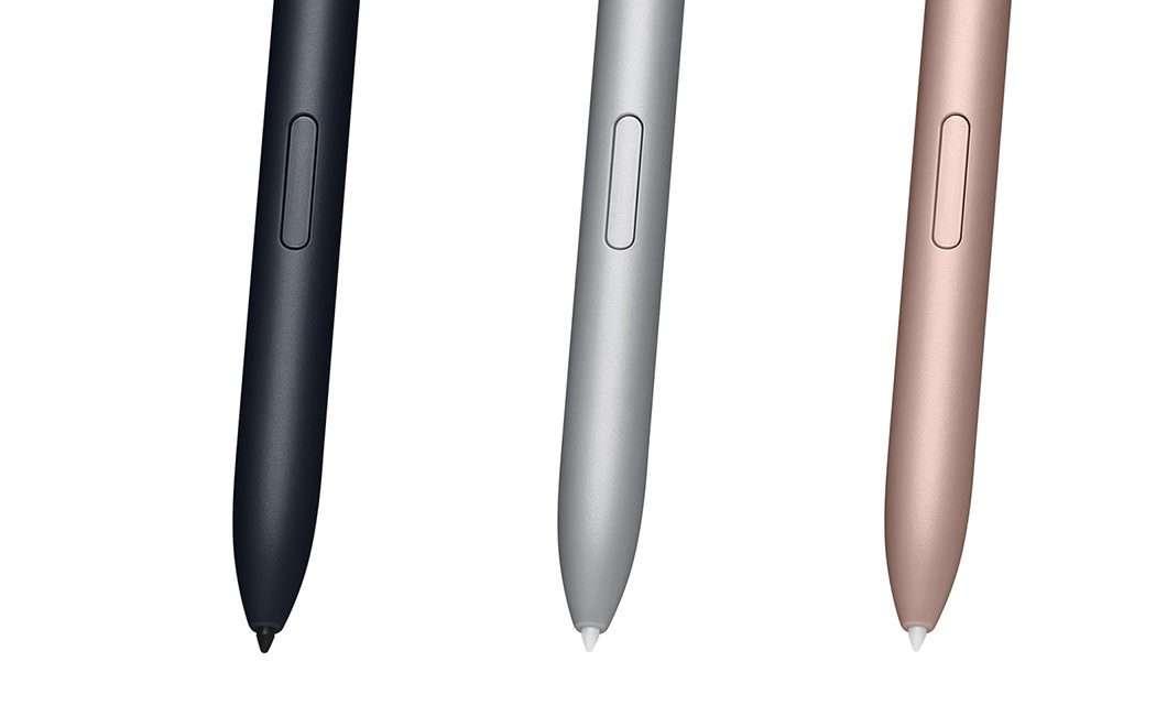 Samsung Galaxy Tab S7 e Galaxy Tab S7+: il pennino S Pen