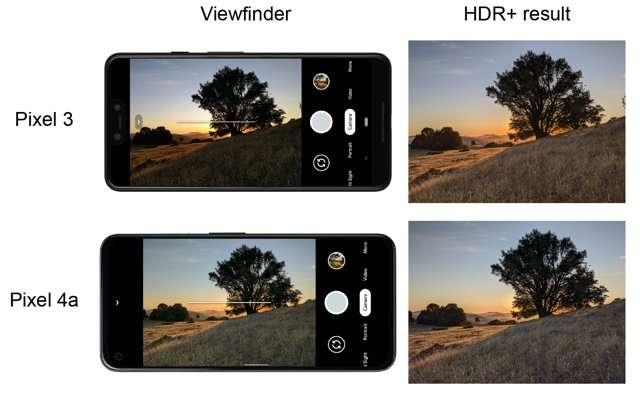 HDR su Pixel 3 e Pixel 4a