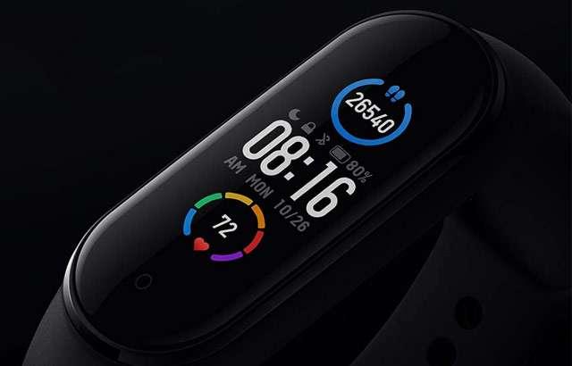 L'indossabile Mi Smart Band 5 di Xiaomi