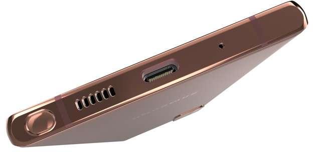 S Pen infilata nel Galaxy Note20