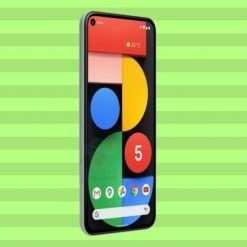 Pixel 5: in verde, insieme al nuovo Chromecast