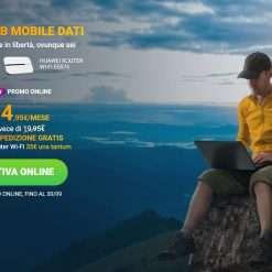 Fastweb: Mobile Dati con 100GB a 14,95€ al mese