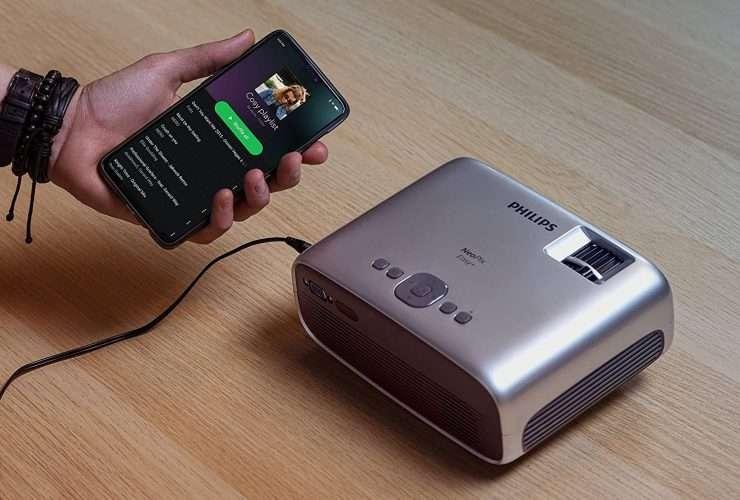 Proiettore portatile per smartphone
