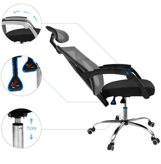 Seduta ergonomica Hbada