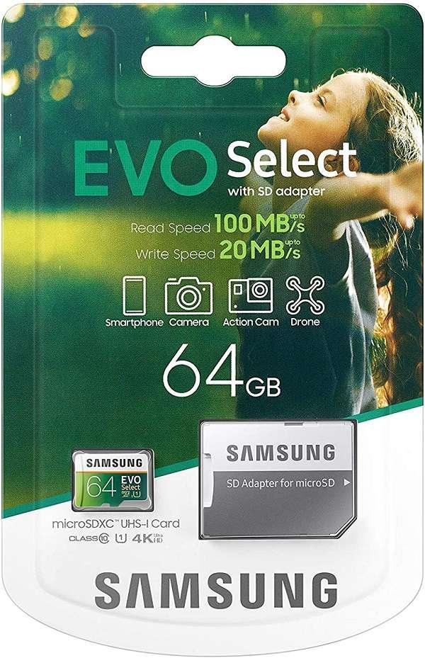 Samsung microSD EVO Select 64GB - 1