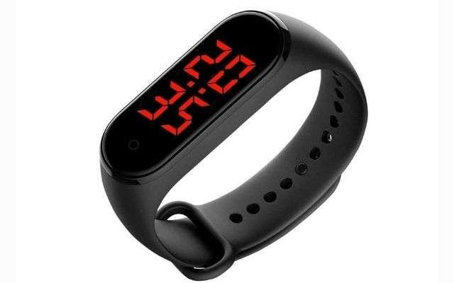 orologio da polso con misurazione della temperatura
