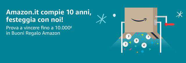 10 anni di Amazon.it