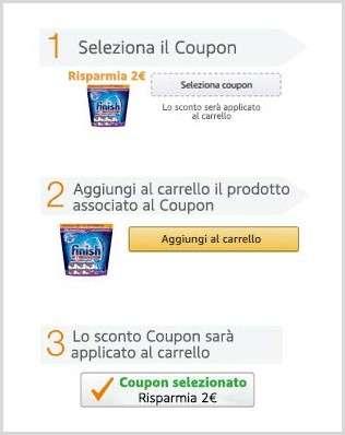 Coupon su Amazon