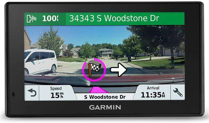 Dash cam con display