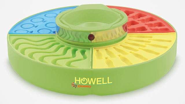 La macchina di Howell per fare le caramelle gommose
