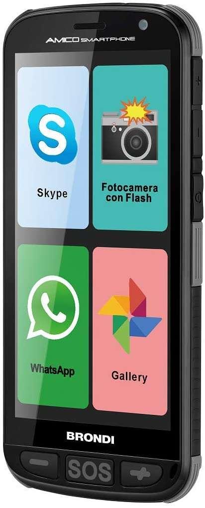 Smartphone Amico Brondi 4GB - 1